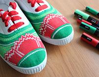 Custom Sneakers - Carnation Revolution
