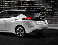 "Nissan Leaf ""The future is now."""