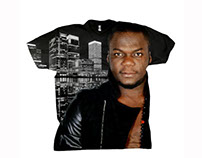 DJ Mix 1er Promotion Tshirt avec Mix records
