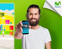 Diseño Social Ads Facebook, Movistar Mistura- Retoque.