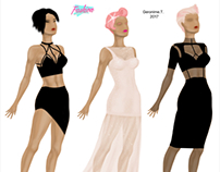 Costume design. Ladies 👸🏻👗