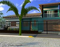 Modelo 3D Reforma Residencial