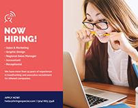 Recruitment Agency Flyer Maker