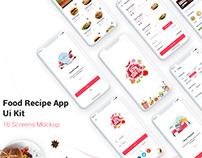 Food Delivery App UI Concept