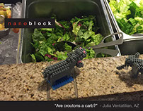 Nanoblock Tumblr Site Design