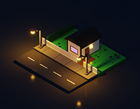 Night House 🌃
