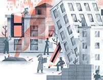 Editorial illustrations 2021