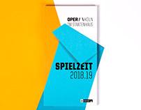 Oper Köln Spielzeitheft 18.19
