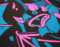 Locura Lúcida Screen Print