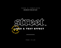 6 Street Text Effect & Badge VOL 3 Photoshop Template