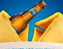 Bud Light fortune cookie