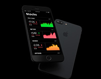 Stock Market App | Main Screen