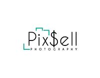 PixSell Photography Company Logo Design