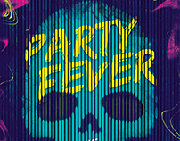 Skull Poster - Party Fever