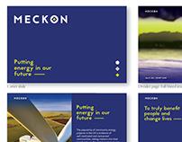 MECKON branding