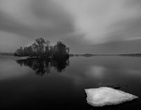 Winter melancholy (black and white)