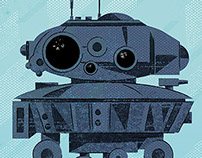 Star Wars Probe Droid illustration