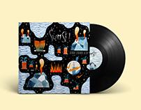 ''Ostrvo ledenog kita'' vinyl cover
