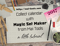Collect calendar with Magic Set Maker (Mai Tools)