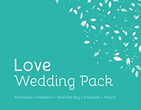 Love Wedding Template Pack