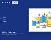Personal Website Work-in-progress
