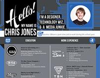Resume - Graphic / Web Designer
