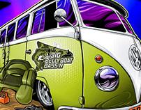 Big Belly VW Illustration