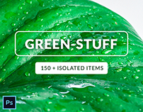 Green-Stuff Collection - 150+ Isolated Items