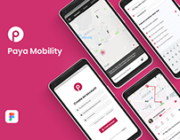 Paya Mobility App UI Design