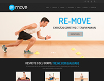 Re-move Logo and website