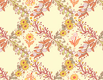 Seasonal Floral Pattern