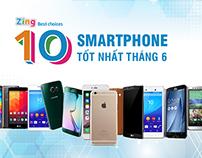 Top 10 smartphone tốt nhất tháng 6