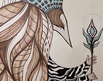 Fantasy Creature Mural, Bristol