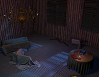 Moonlit Room