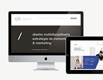 F/A diseño multidisciplinario
