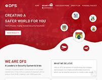 DFS - Security Grid Design - Landing Page