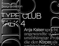 TYPE CLUB TALK 4
