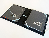 ING Bank   Tender and folder design