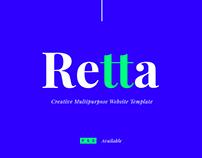 Retta Sliders