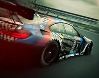 BMW M6 GT3 - M4GT3 CAMO LIVERY