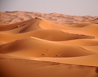 The Enchanting Dunes of Merzouga {Morocco}