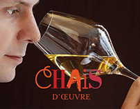 Chais d'Oeuvre - Webdesign