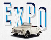 Exposition de véhicules d'époque