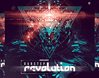 Dubstep Revolution Flyer Template