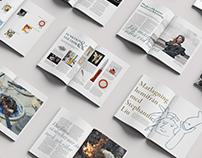 ANPO Magazine layout