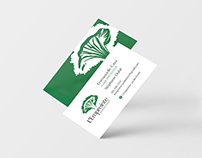 L'Empreinte Jardin-Forêt - Logo et carte d'affaires