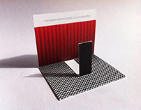 RED SENTINEL: Personal business card