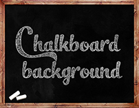 12 Chalkboard Backgrounds - $4