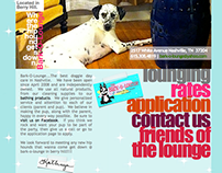 Web Design: Bark-O-Lounge Website Redesign