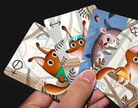 The Squirricks card game